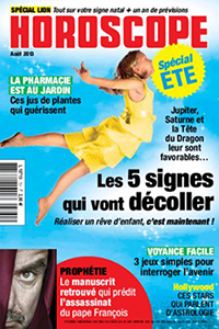 Horoscope magazine aout 2013